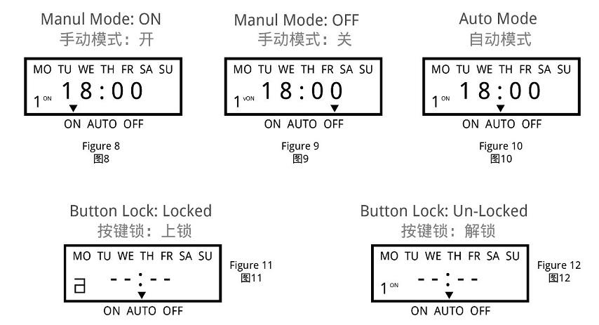 How to set KG3022D, KG3022T, DSK series Digital Programable Electric Bell Controller 1